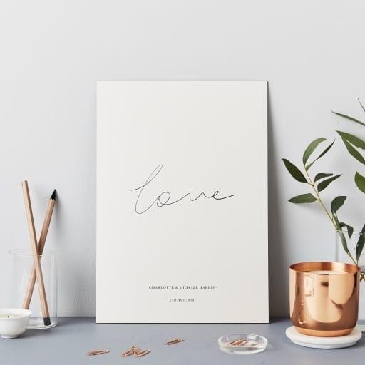 Katie Leamon Love Print
