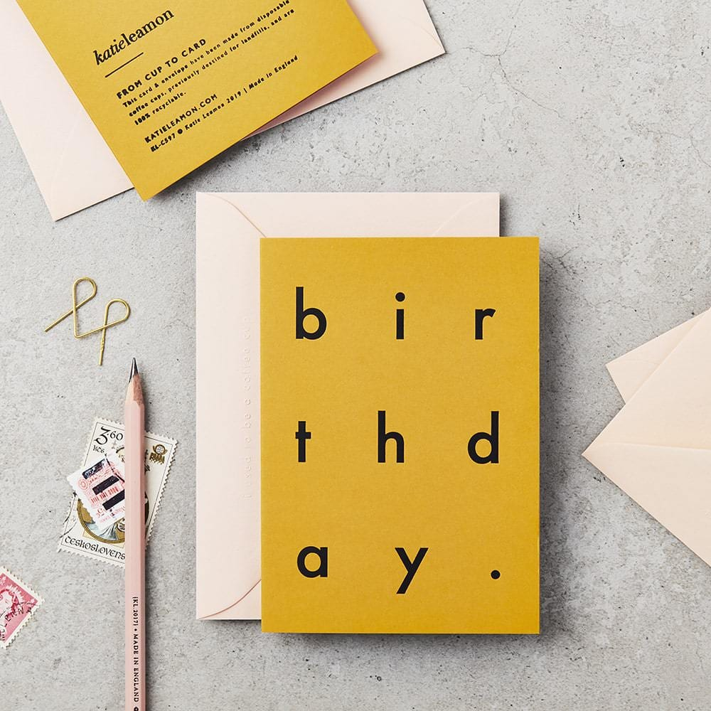 Why Do We Give Birthday Cards Birthday Cards Uk Katie Leamon