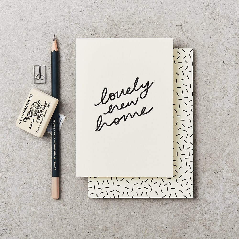 Lovely New Home Card Luxury Greeting