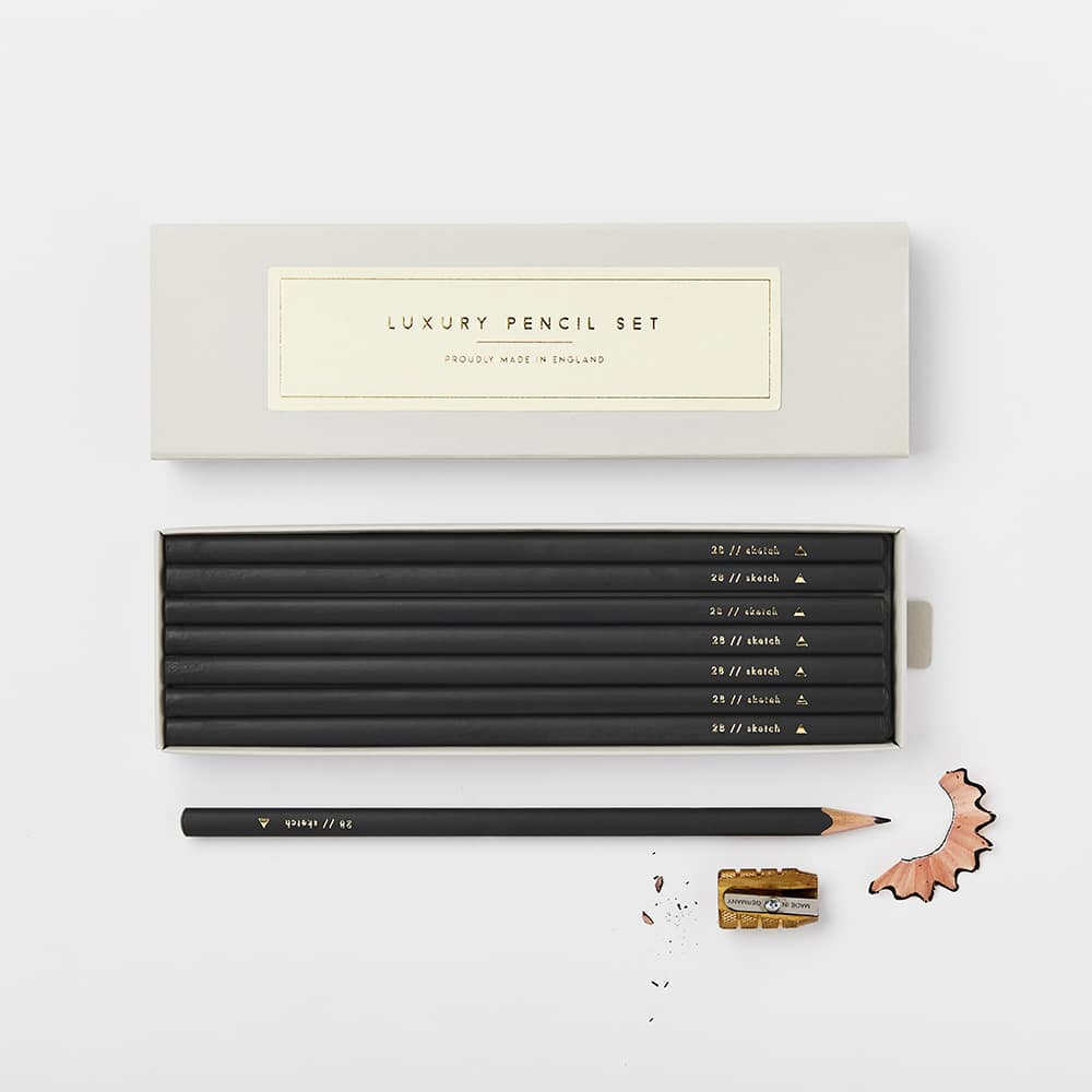 Katie Leamon Flint Pencil Set