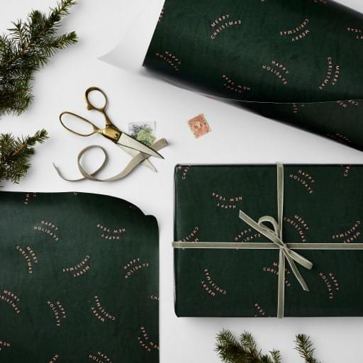 Green Holidays wrap