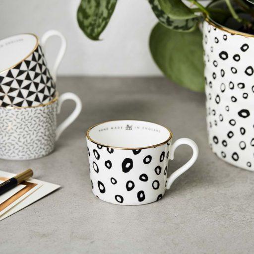 Katie Leamon B&W Espresso hoop cup