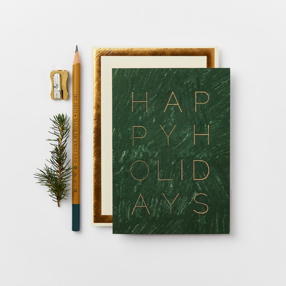 Katie Leamon happy holidays card