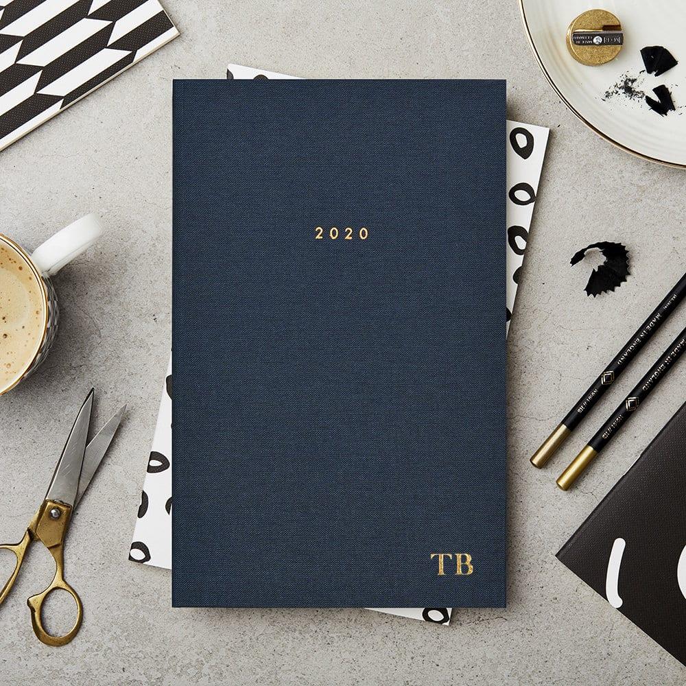 Katie Leamon Navy Hardback Diary