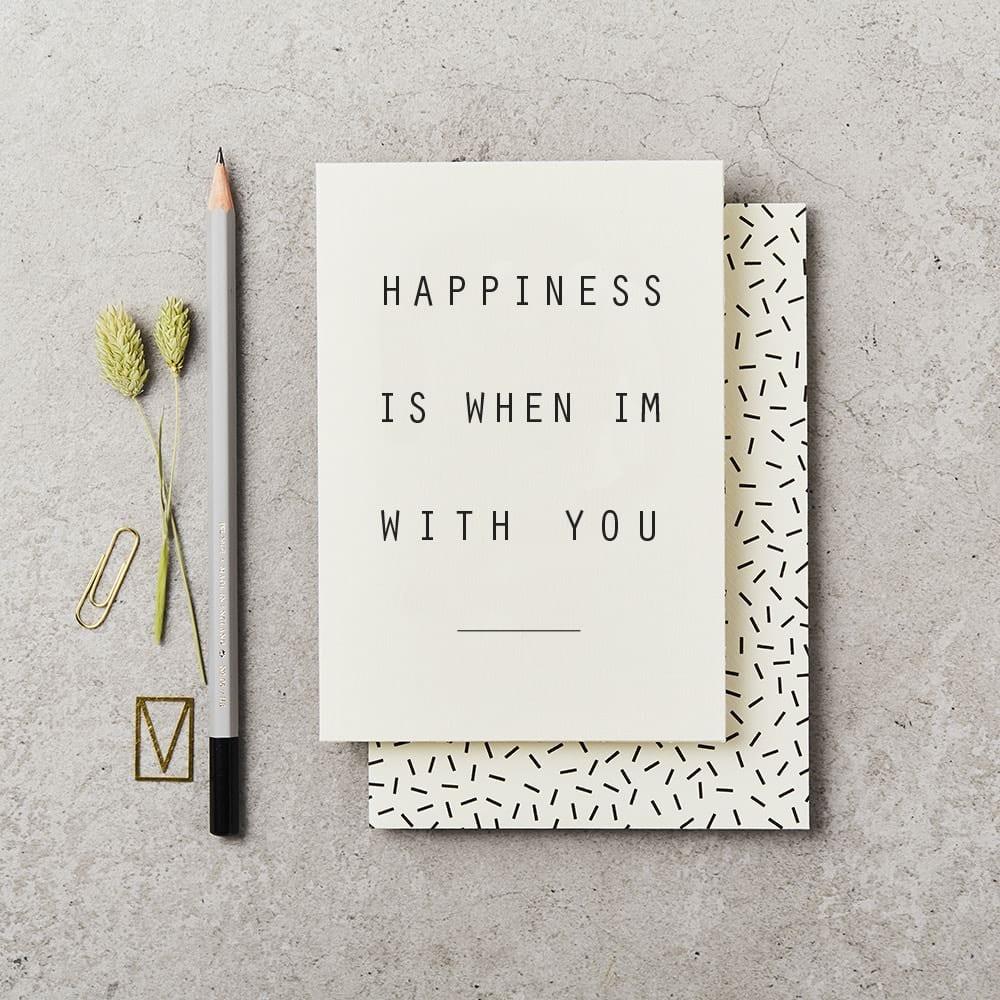 Katie Leamon Happiness card